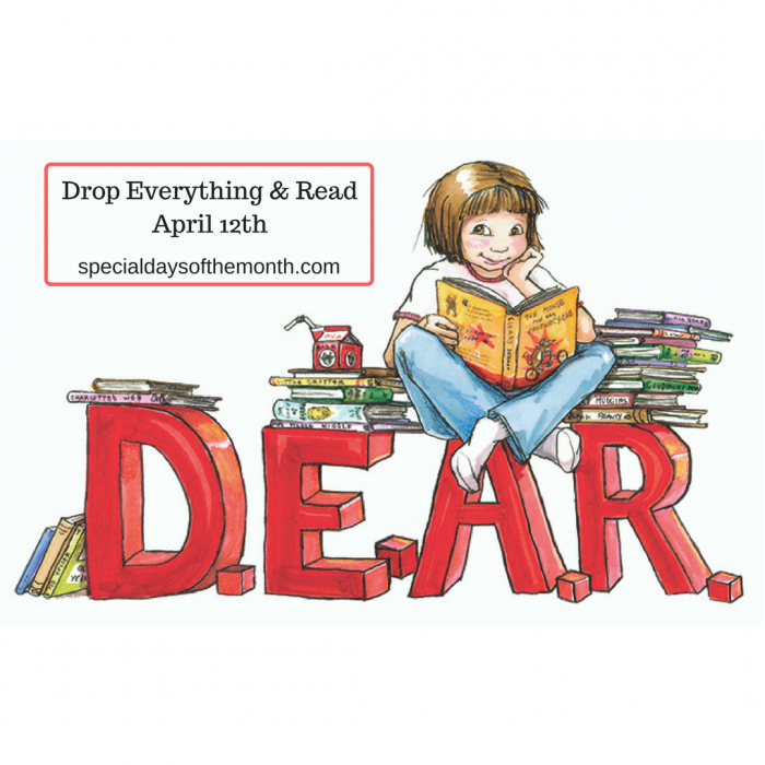 drop everything and read 1   special days of the month
