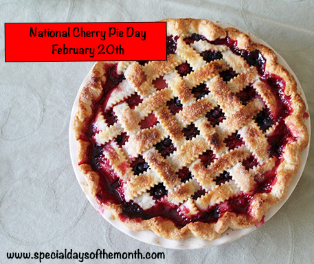 'national cherry pie day'