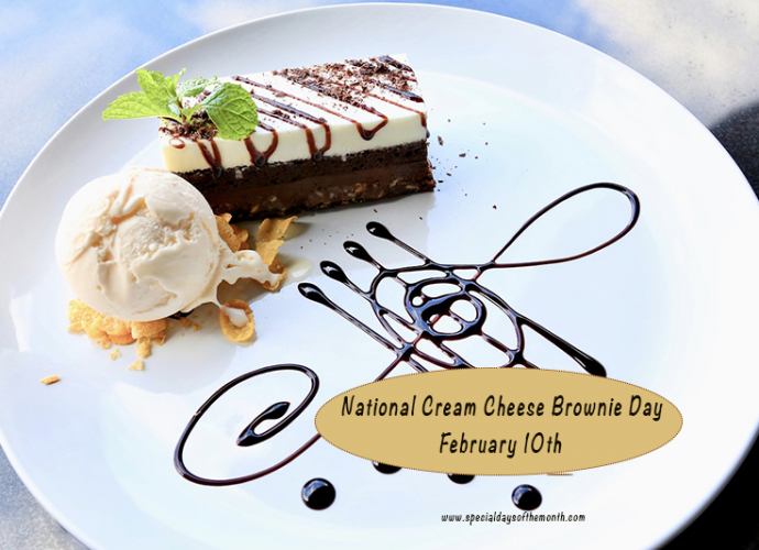 'national cream cheese brownie day'