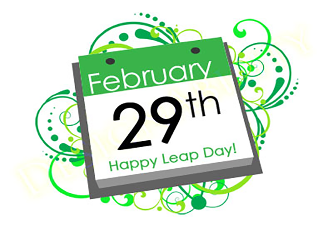 """leap year - leap day"""