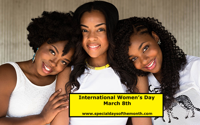 """international women's day - march 8th"""