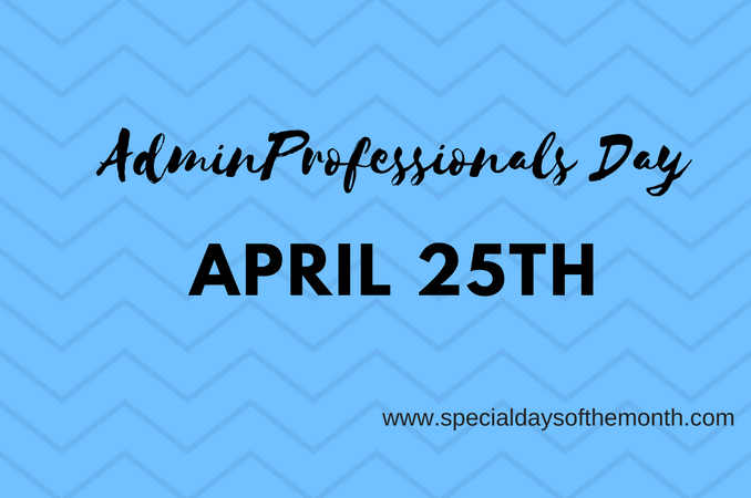 """admin professionals day"""