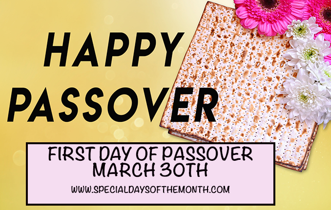 """first day of passover"""