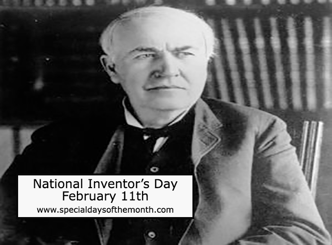 """national inventor's day"""