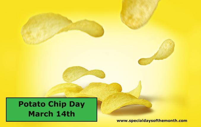 """potato chip day - march 14th"""