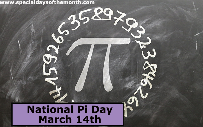 """national pi day"""
