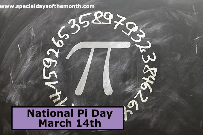 """national pi day"""