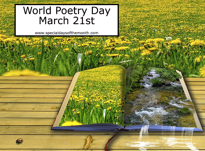 """""""world poetry day"""""""