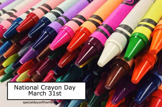 """crayon day"""