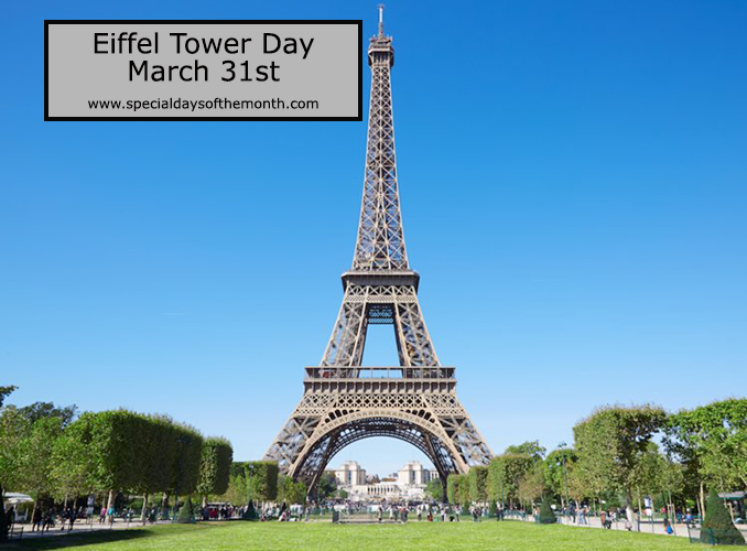 """eiffel tower day - march 31"""