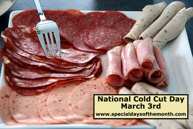 """""""cold cuts boars head day - march 3rd"""""""