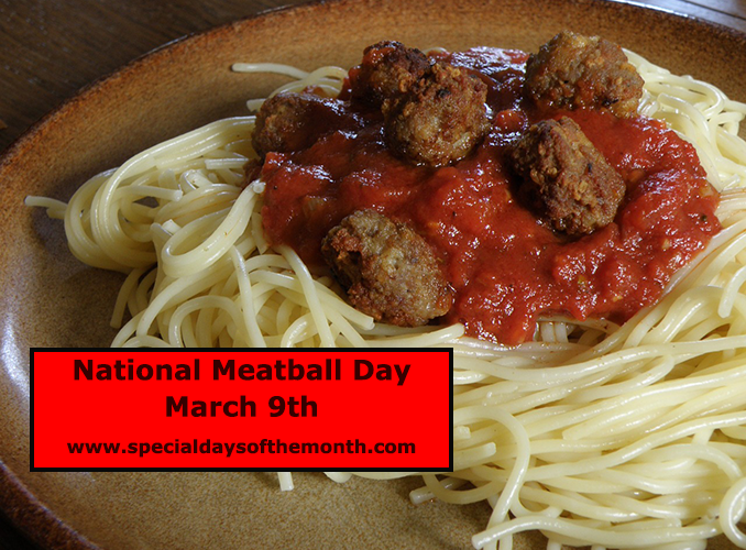 """""""meatball day - march 9th"""""""