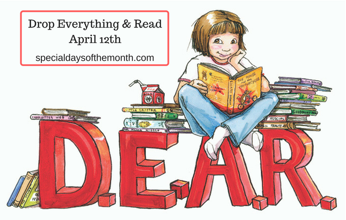"""d.e.a.r. - drop everything & read"""