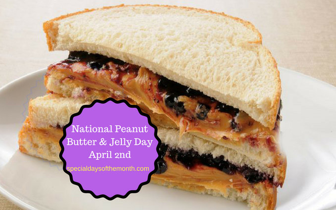 """peanut butter and jelly day"""