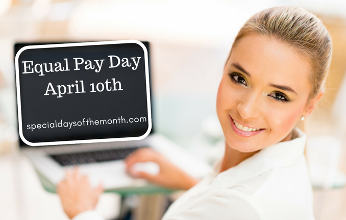 """""""equal pay day"""""""