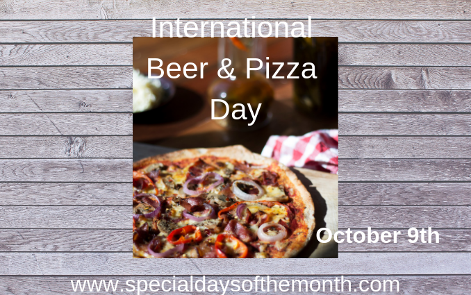 """beer and pizza day"""