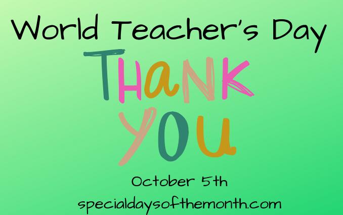 """""""world teacher day"""""""