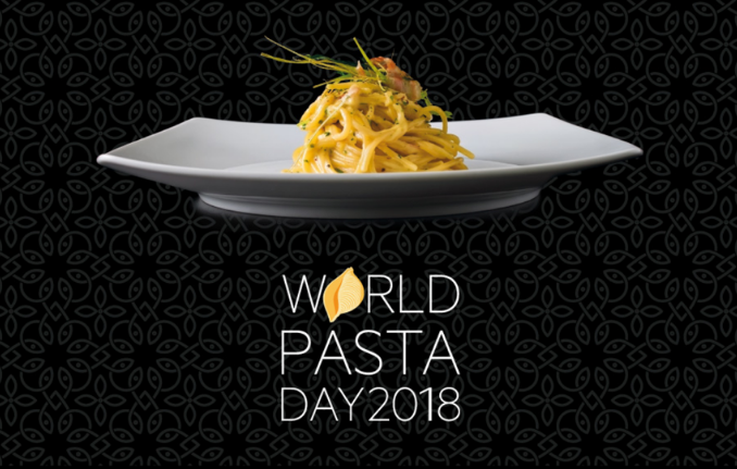 """world pasta day - october 25th"""