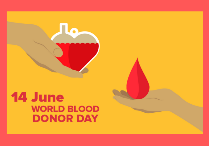 """world blood donor day"""
