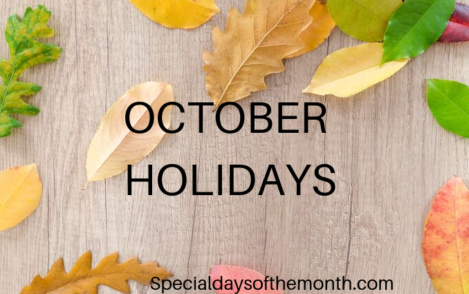 """october special holidays"""