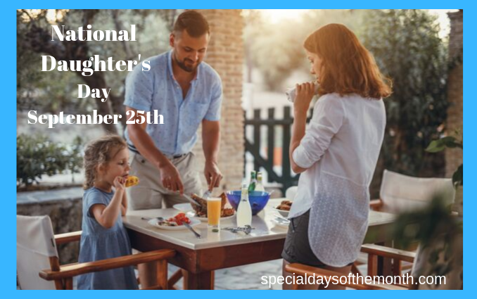 """""""national daughter's day"""""""