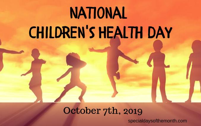 """""""children's health day"""""""