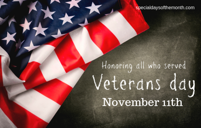 """veterans day - Nov 11th"""